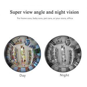 دید در شب دوربین لامپی - تصویر دوربین لامپی در شب
