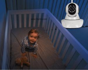 دوربین چرخشی بیسیم - دوربین بیسیم چرخشی - دوربین baby cam - دوربین کودک