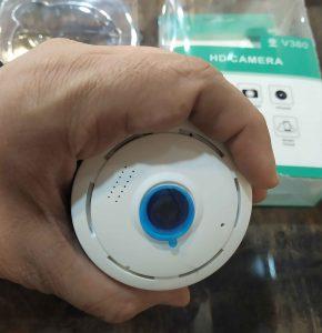 دوربین رم خور 360 درجه بی سیم