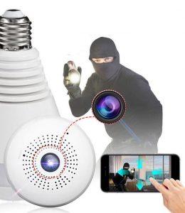 دزدگیر دوربین لامپی