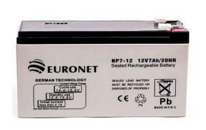 باتری 12 ولت 7.2 آمپر euronet - قیمت باتری یورونت